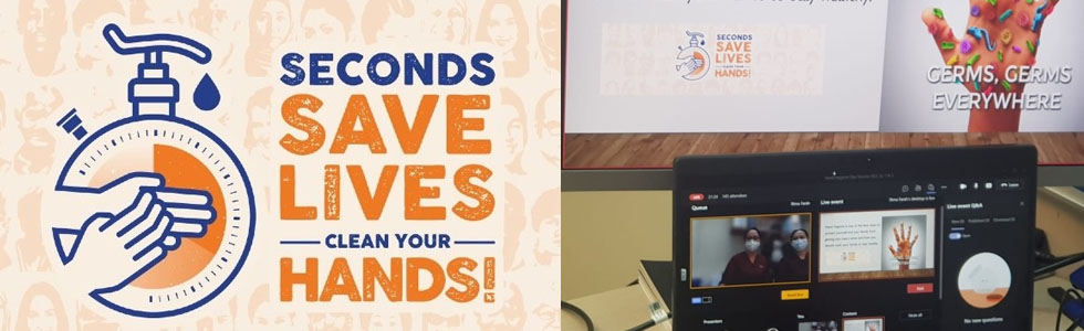 QG Medical Team Promote Awareness for World Hand Hygiene Day 2021